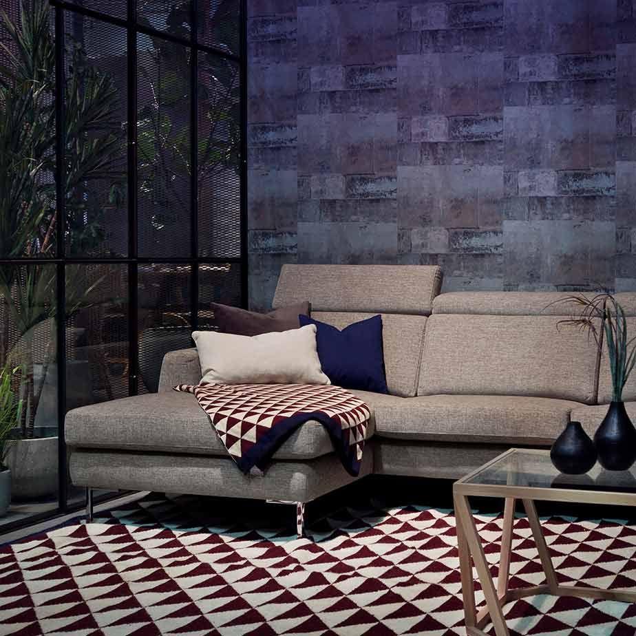 שטיח TRIANGLE PURPLE