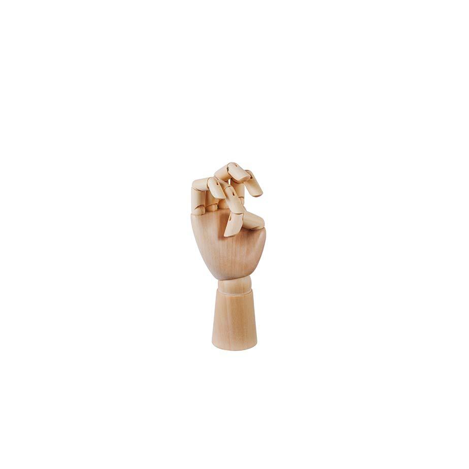 פסל WOODEN HAND S