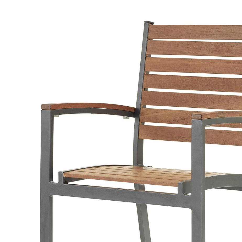 כסא עם ידיות IRIS