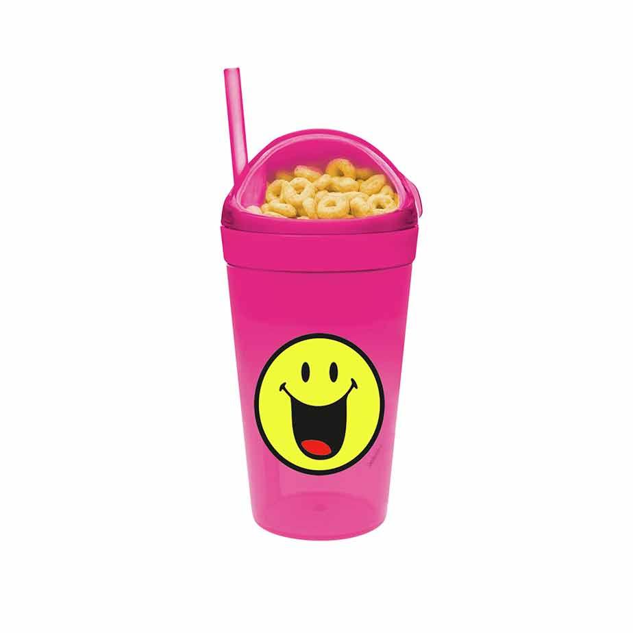 כוס+חטיף SMILEY