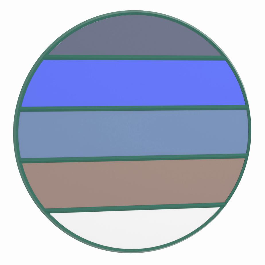 מראה עגולה VITRAIL