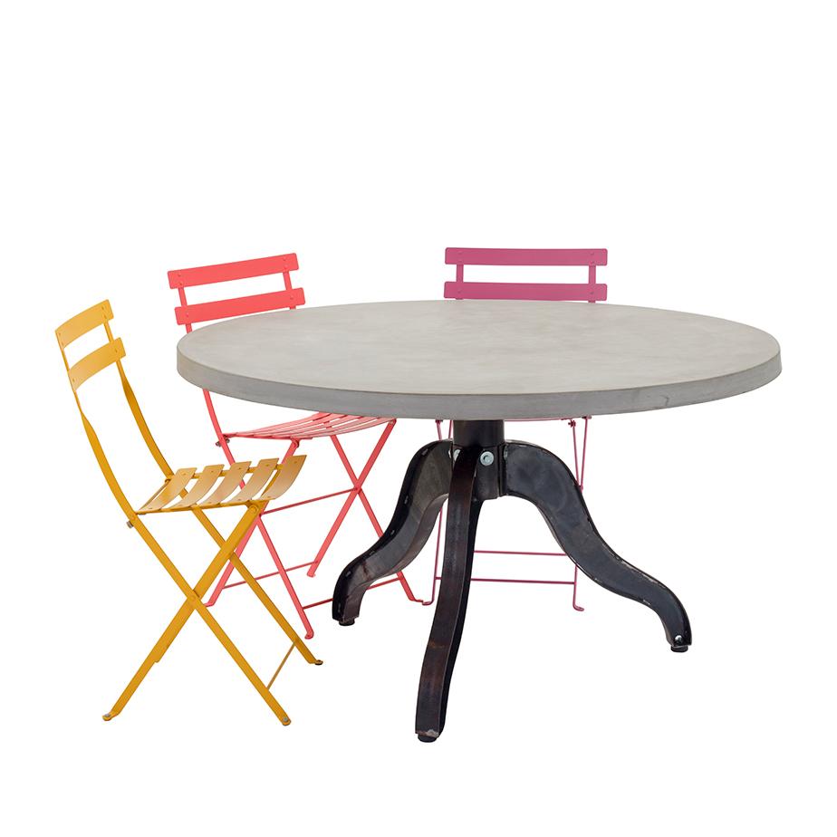 שולחן עגול CHICAGO