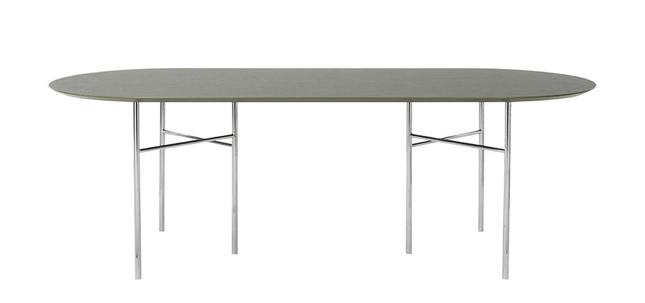 שולחן אובאלי MINGLE