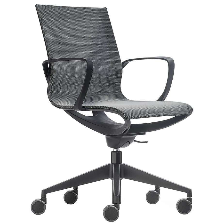 כסא עבודה KEY LINE BLACK
