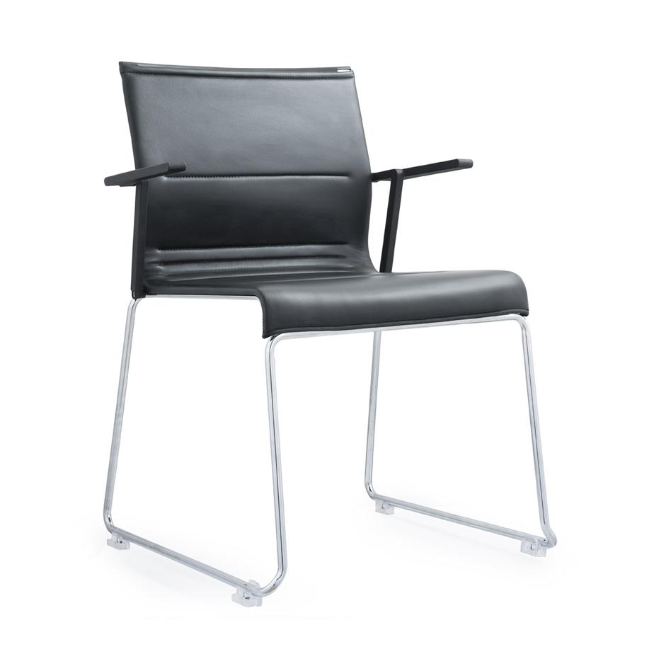 כסא אורח מרופד  POLYGRAM