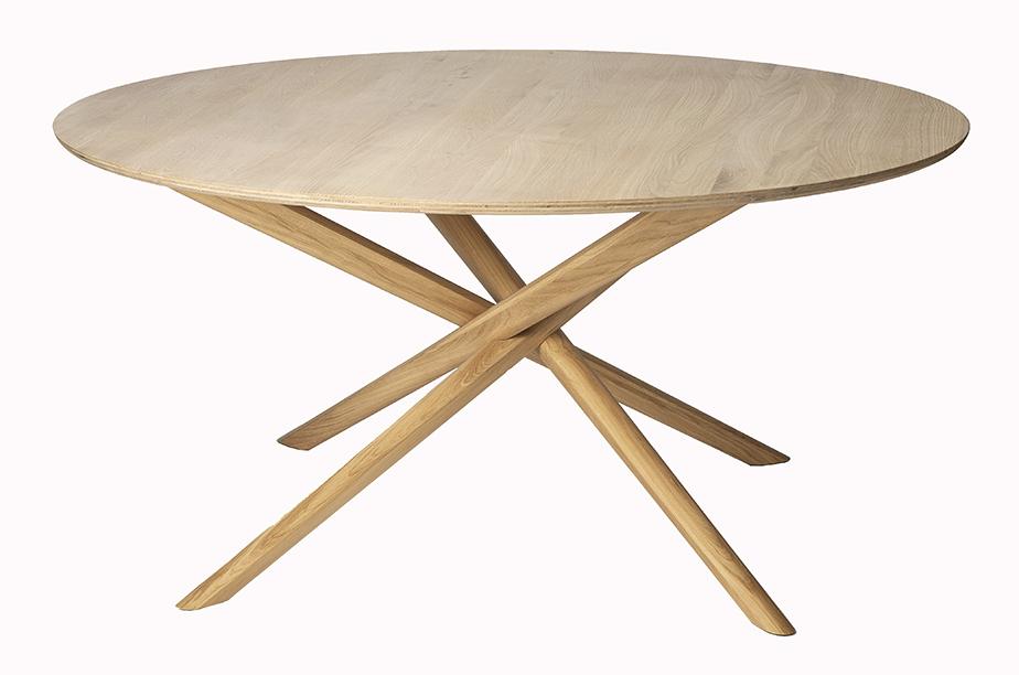שולחן עגול MIKADO