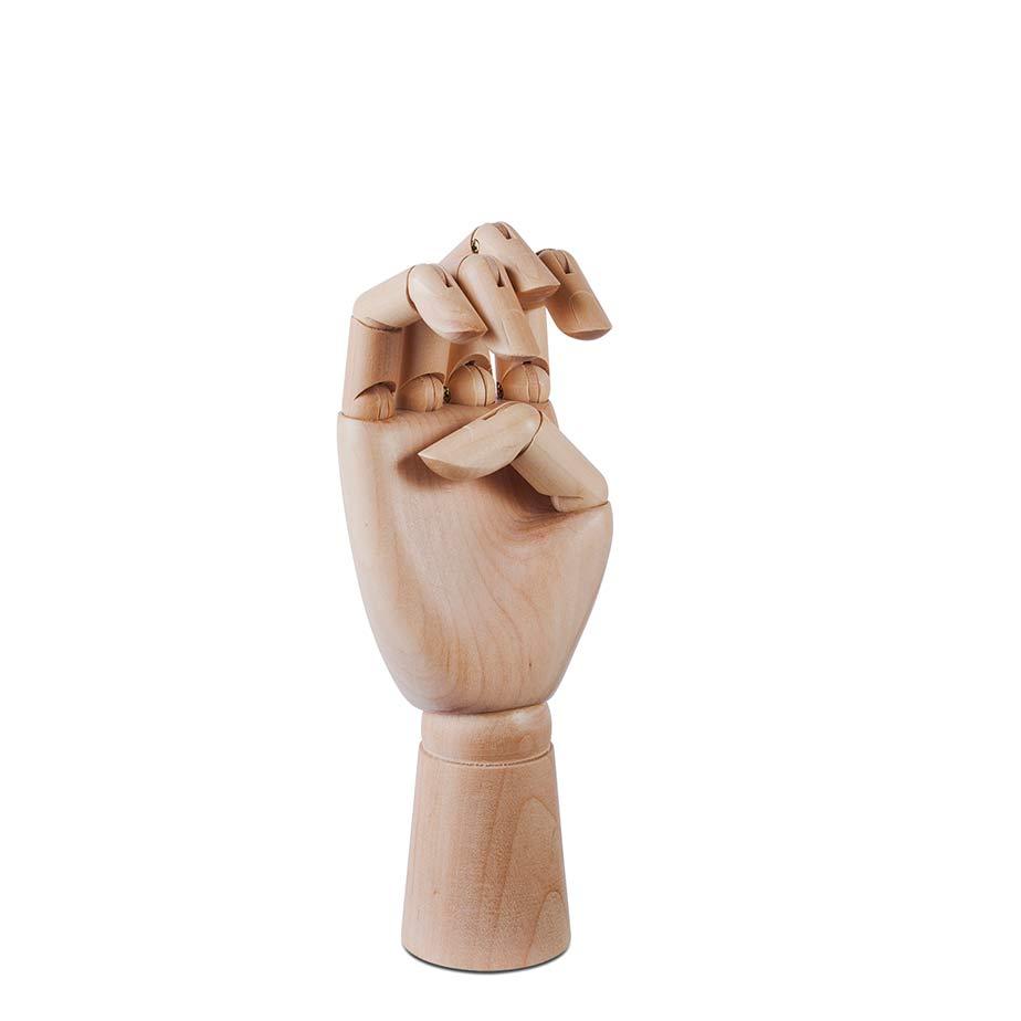 פסל WOODEN HAND M