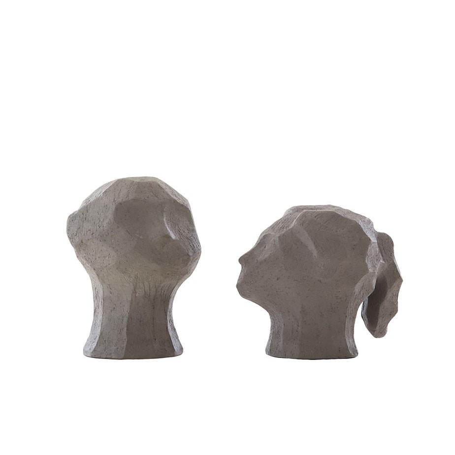 זוג פסלים