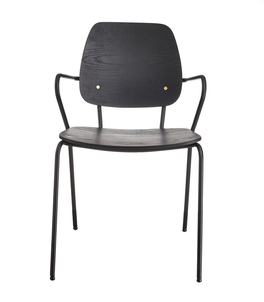 כסא QUEEN BLACK