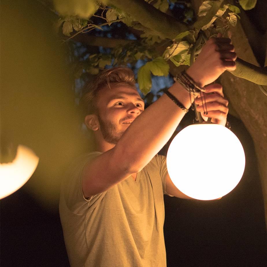 מנורת BOLLEKE - LED
