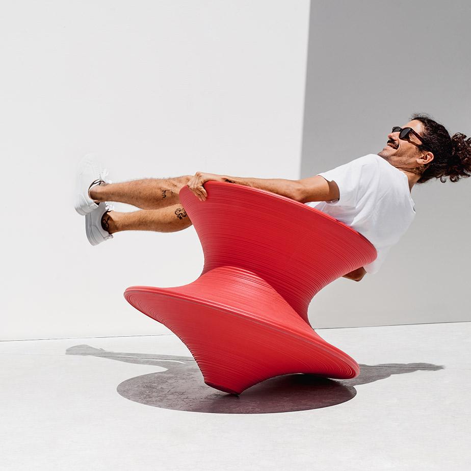 כסא מסתובב SPUN
