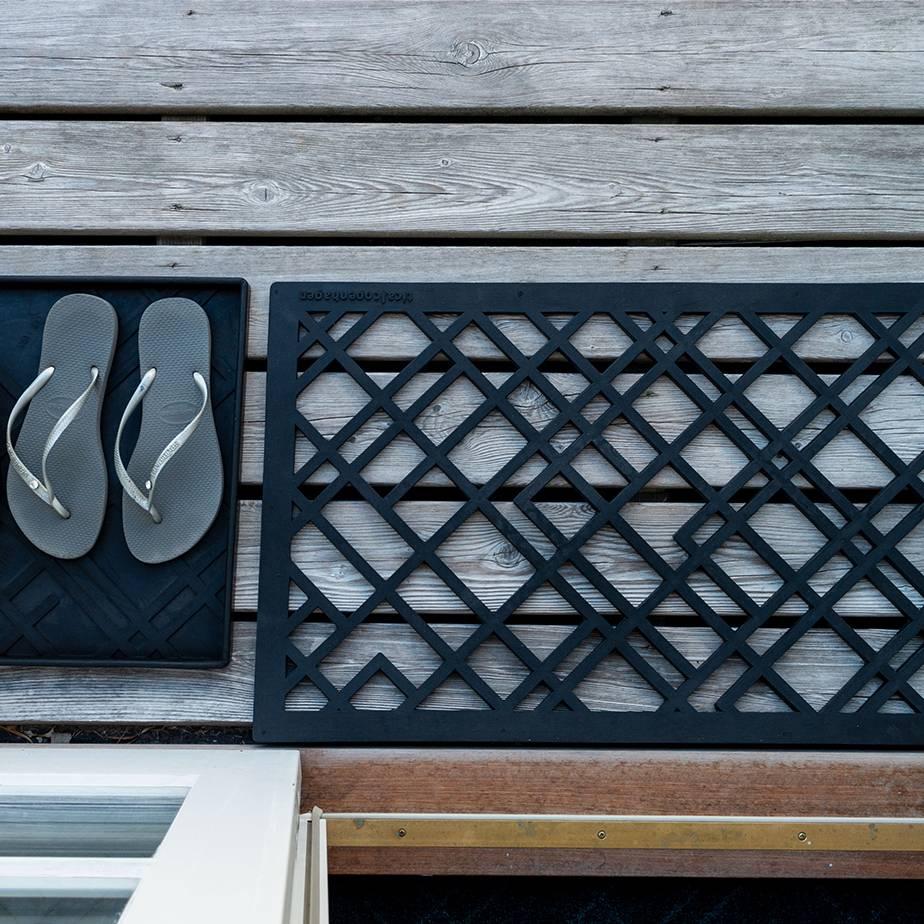 שטיח גומי גאומטרי DOOR MAT