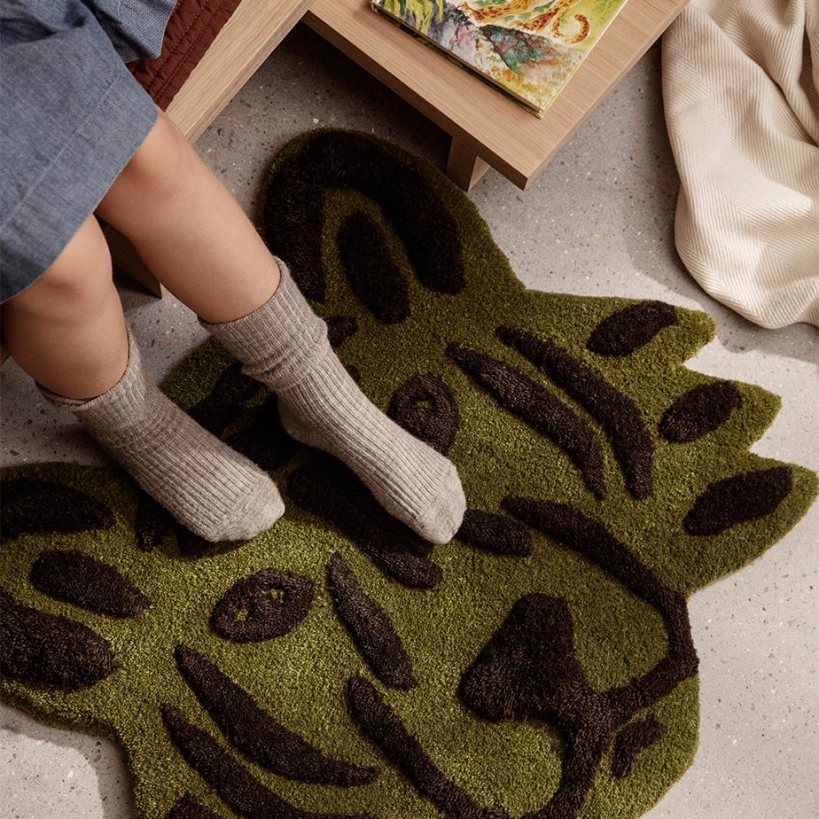 שטיחון טיגריס TUFTED