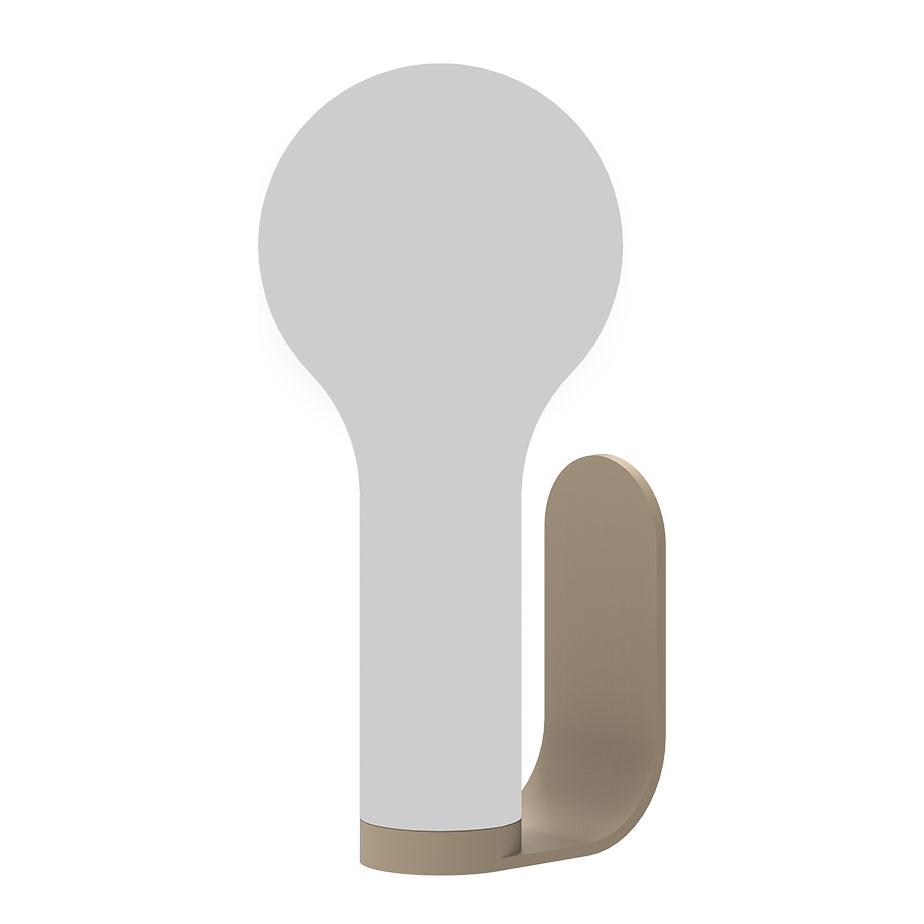 מתלה קיר למנורת APLO USB