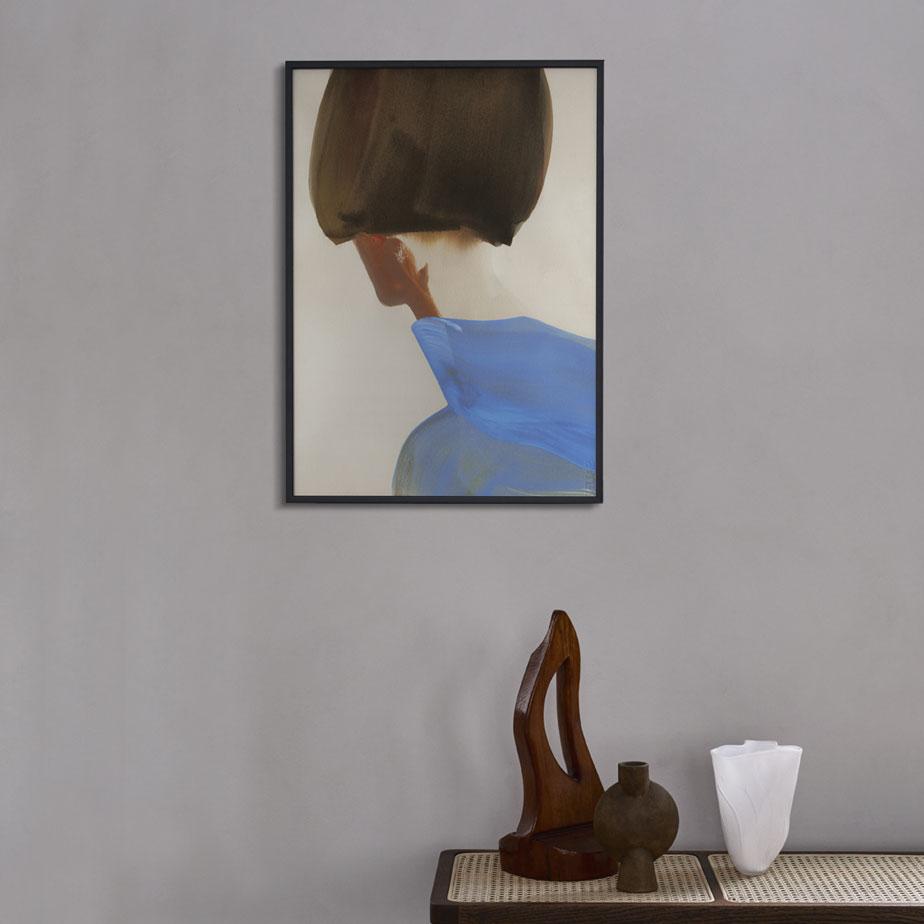 פוסטר BLUE CAPE 50X70