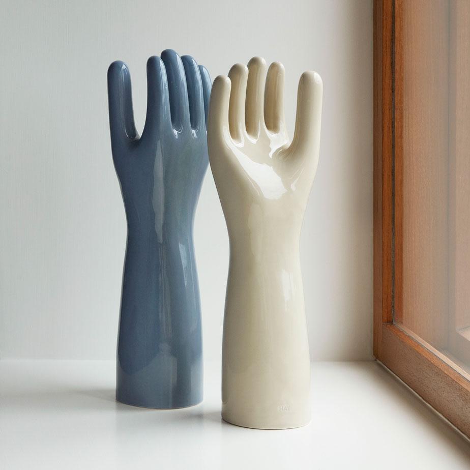 פסל קרמיקה DECO HAND
