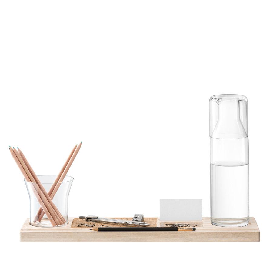 ארגונית שולחן עם קראף וכוס PLATEAU
