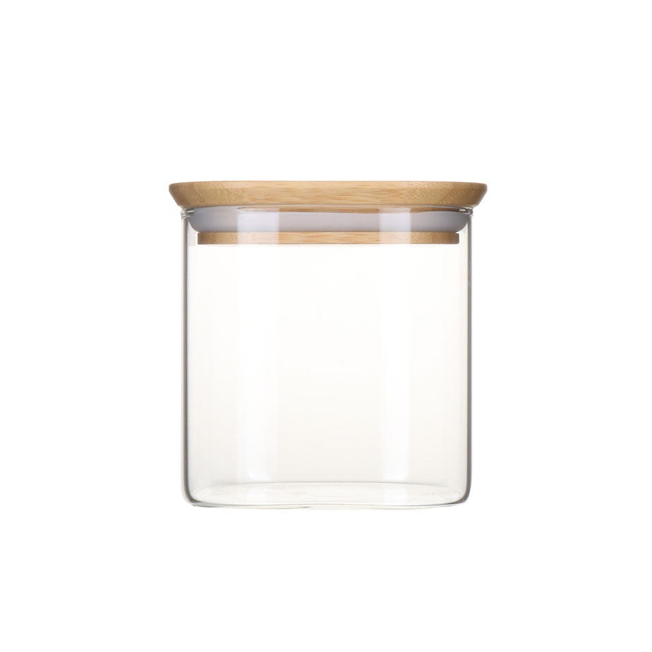 צנצנת זכוכית דקה BAMBOO S